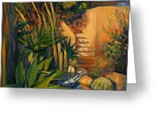 Jardin De Cactus Greeting Card