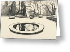 Jardin Des Musee De Montmartre Greeting Card