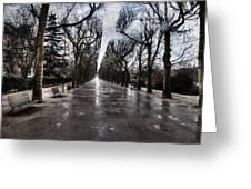 Jardin Des Plantes Paris France Greeting Card