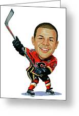 Jarome Iginla Greeting Card