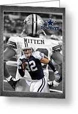 Jason Witten Cowboys Greeting Card