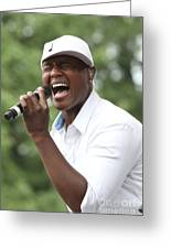 Javier Colon Greeting Card