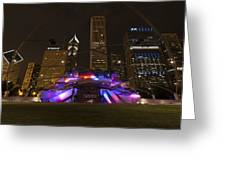 Jay Pritzker Pavilion Chicago Greeting Card