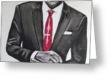 Jay Z Greeting Card by Eric Dee