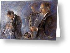 Jazz 01 Greeting Card