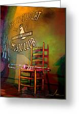 Jazz Break In New Orleans Greeting Card