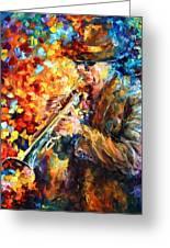 Jazz Feel Greeting Card