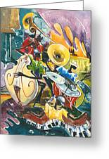 Jazz No. 4 Greeting Card