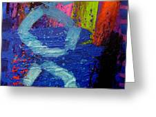 Jazz Process - Improvisation Greeting Card