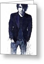 Jazz Rock John Mayer 07 Greeting Card