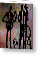 Jazz Trio 2 Greeting Card