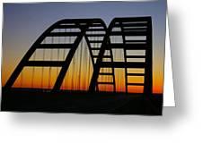 Jb Bridge Greeting Card