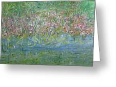 je t'aime Monet Greeting Card