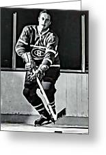 Jean Beliveau Greeting Card