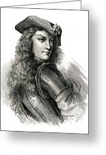 Jean Cavalier  French Insurgent, Leader Greeting Card