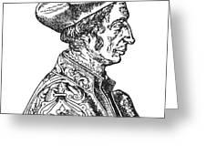 Jean Fernel (1497-1558) Greeting Card