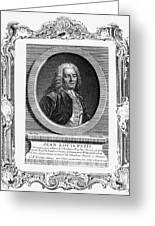 Jean Louis Petit (1674-1750) Greeting Card
