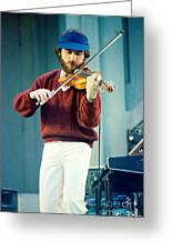 Jean Luc Ponty At The Greek Theater In Berkeley Ca 1980 Greeting Card