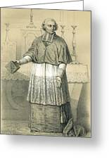 Jean-siffrein Maury  French Priest Greeting Card