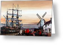 Jeanie Johnston Famine Ship Greeting Card