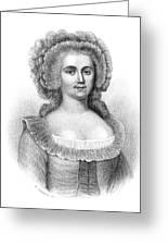 Jeanne De Luz De St Greeting Card