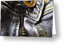 Jeans - Abstract Greeting Card
