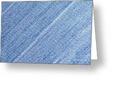 Jeans Texture Greeting Card