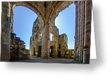 Jedburgh Abbey - 2 Greeting Card