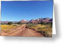 Jeep Trail Greeting Card
