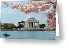 Jefferson Bloom Greeting Card