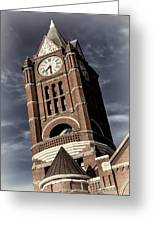 Jefferson County Courthouse Clock Tower Greeting Card