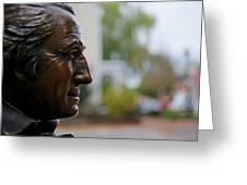 Jefferson In Bronze Greeting Card