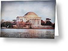 Jefferson Memorial In Dc Greeting Card