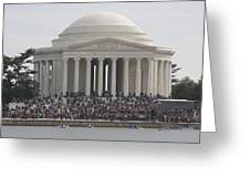 Jefferson Memorial - Washington Dc - 01134 Greeting Card