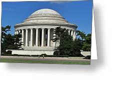 Jefferson Memorial Washington Greeting Card