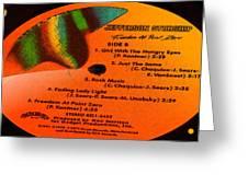 Jefferson Starship Side B Greeting Card