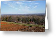 Jefferson's View From Monticello Greeting Card