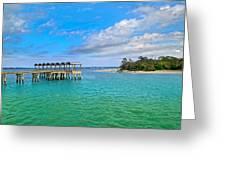 Jekyll Island Just Like Paradise Greeting Card
