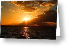 Jekyll Sunset Greeting Card
