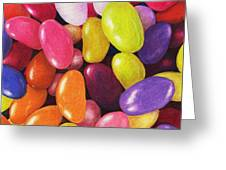 Jelly Beans Greeting Card by Anastasiya Malakhova