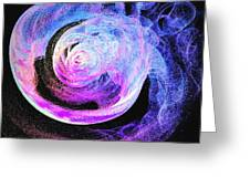 Jellyfish Abstract Greeting Card