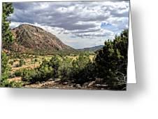 Jemez Mountain Valley Greeting Card