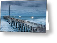 Jennette's Fishing Pier Greeting Card