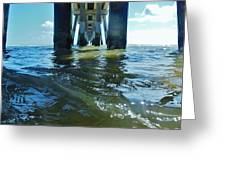 Jennettes Pier Nags Head 3 5/22 Greeting Card