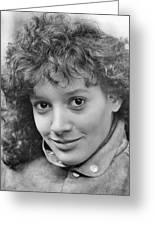 Jennifer Beals In Flashdance  Greeting Card by Silver Screen