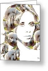 Jennifer Love Hewitt Greeting Card