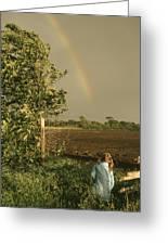 Jennifer's Rainbow Greeting Card