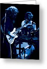 Jerry And Billy At Winterland 2 Greeting Card