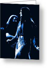 Jerry And Donna Blues 1978 Greeting Card