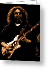 Jerry At Winterland 1977 Greeting Card